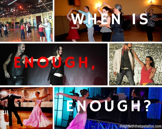 When is Enough, Enough